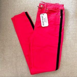 Velvet Denim Jeans